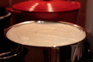 purée de graiens de soja