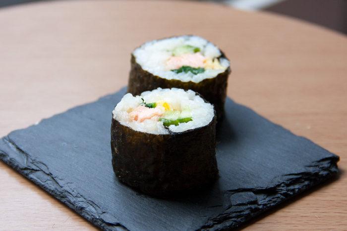 maki suhi au saumon