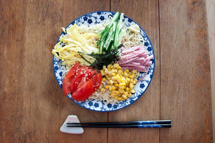 Salade de ramen