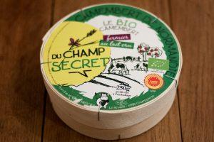 Camembert de la ferme du champ secret