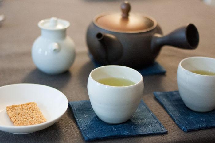 thé gyokuro infusé