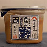 miso blanc en pâte