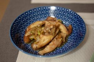 champignons shiitake sautés